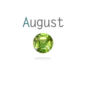August Birthstone Peridot Up To 15