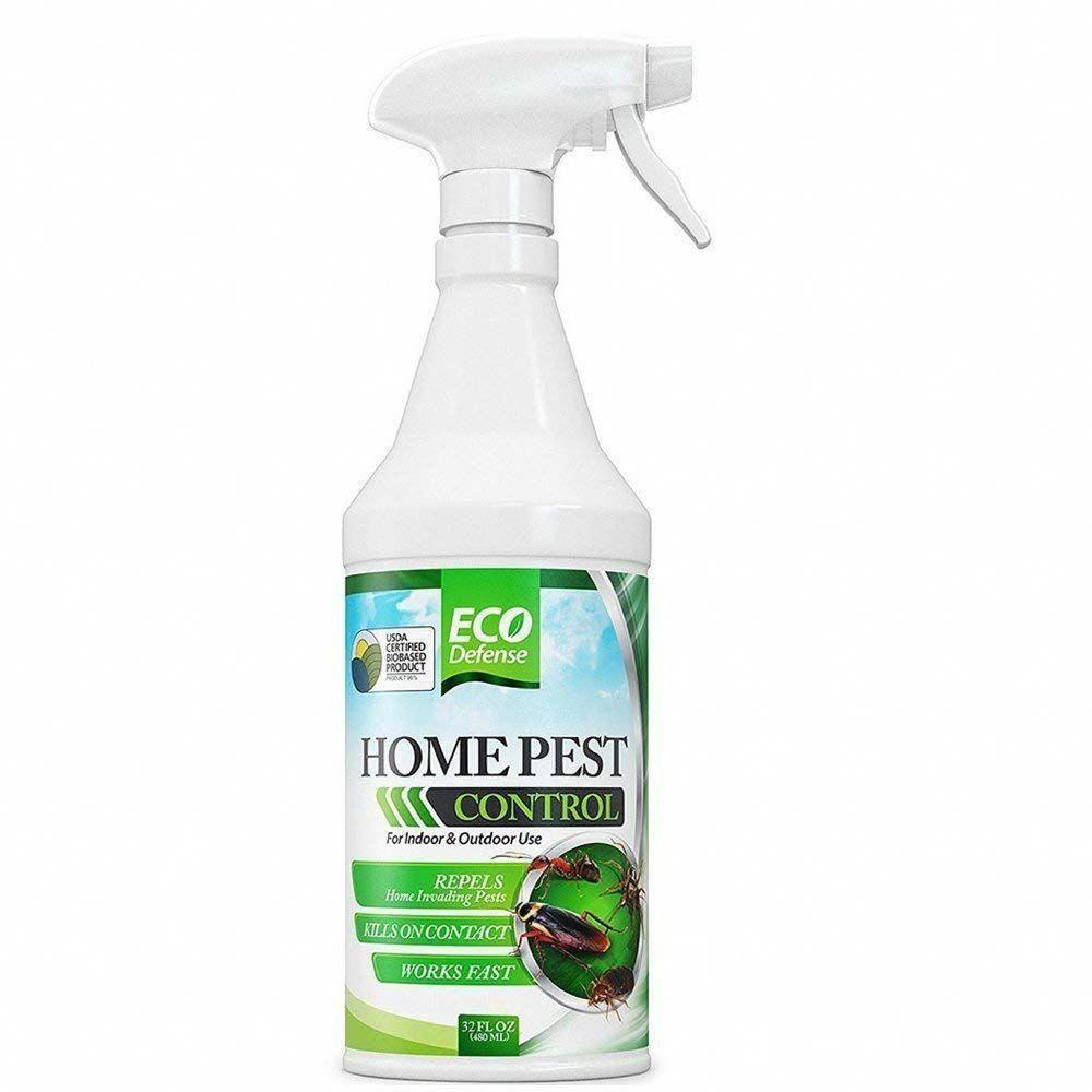 Eco Defense Organic Home Pest Control Spray 32 Oz Only 14 97 Homepestcontrol Bestpestcontrolsprayforhomes H Pest Control Best Pest Control Insect Control