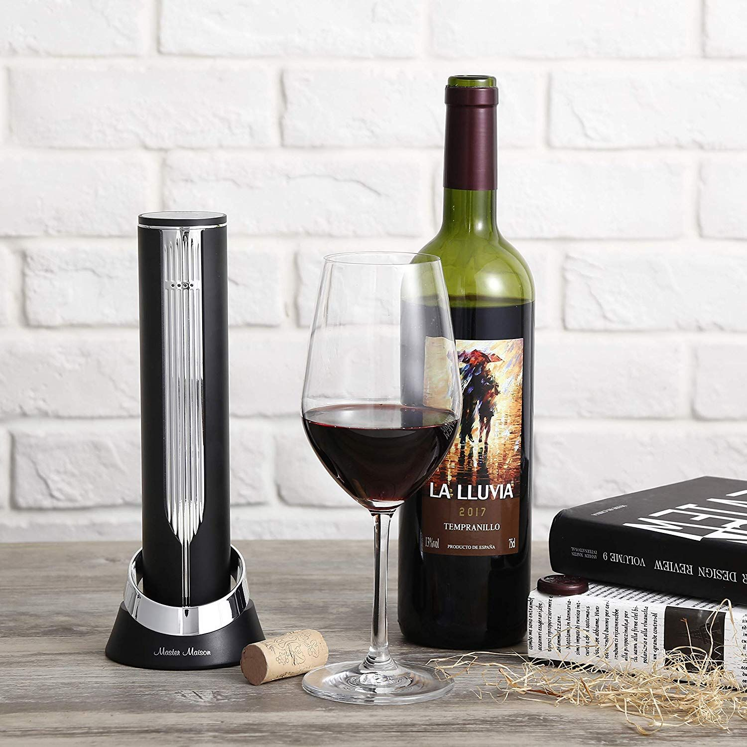 Tender Twist Electric Wine Bottle Opener Automatic Corkscrew Set Complete Kit With Built In Re Wine Bottle Opener Electric Wine Bottle Opener Bottle Opener