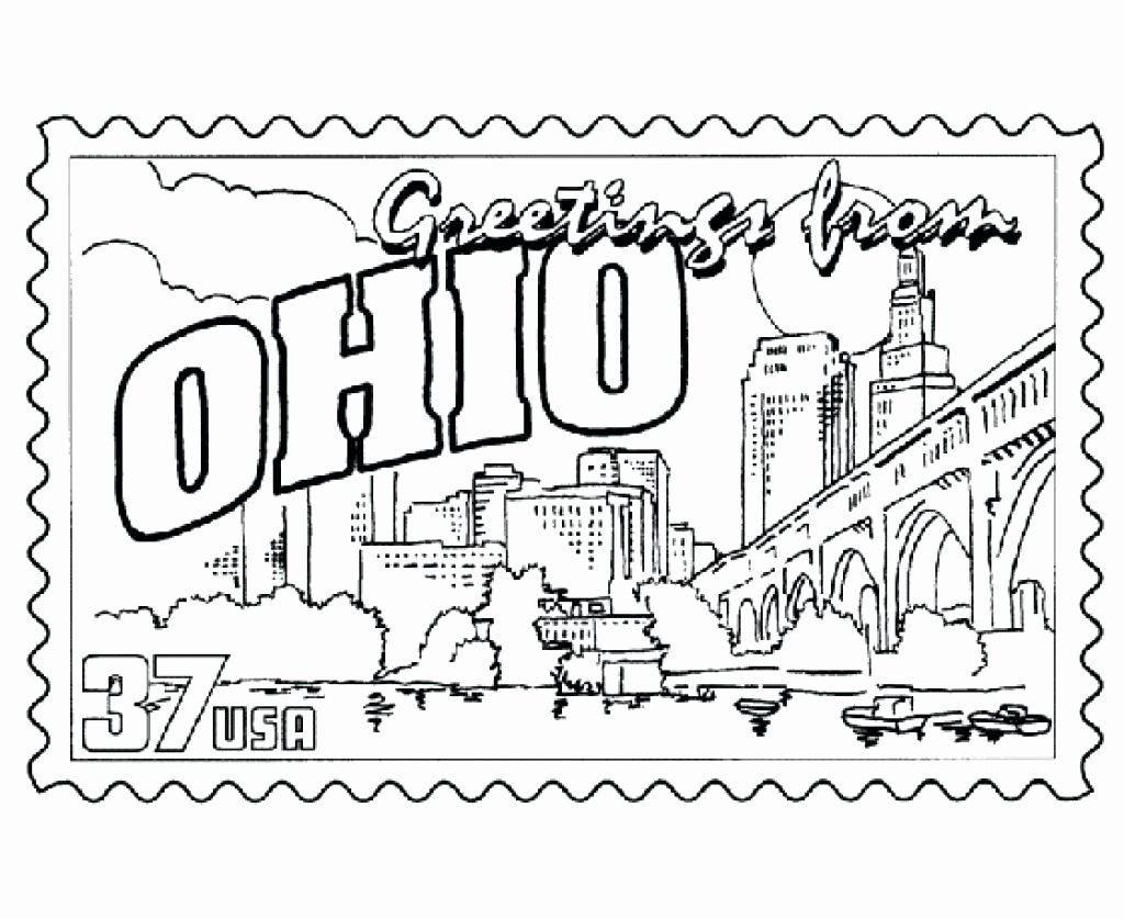 Florida State Flower Coloring Page In 2020 Ohio State Colors