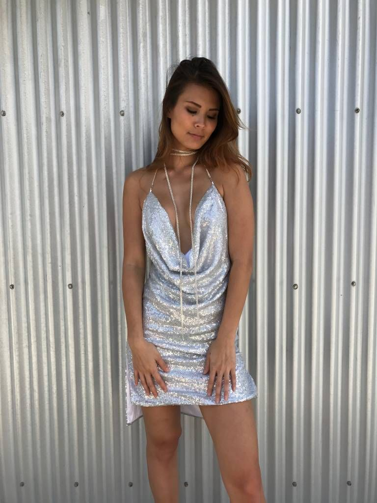 Kendall Jenner Sequin Dress Moxy Boutique Hawaii