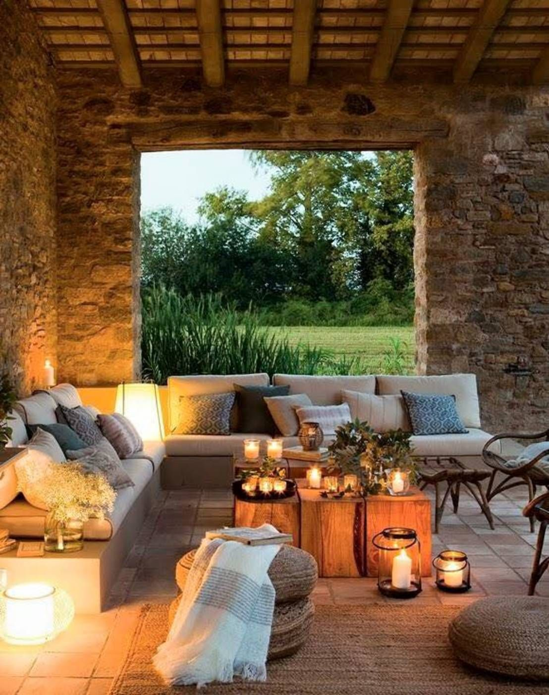 10 sitting areas that make the garden more beautiful