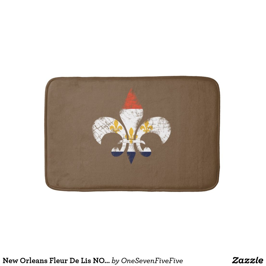Ambesonne Fleur De Lis Bath Mat Multi Mat Online Home Gifts
