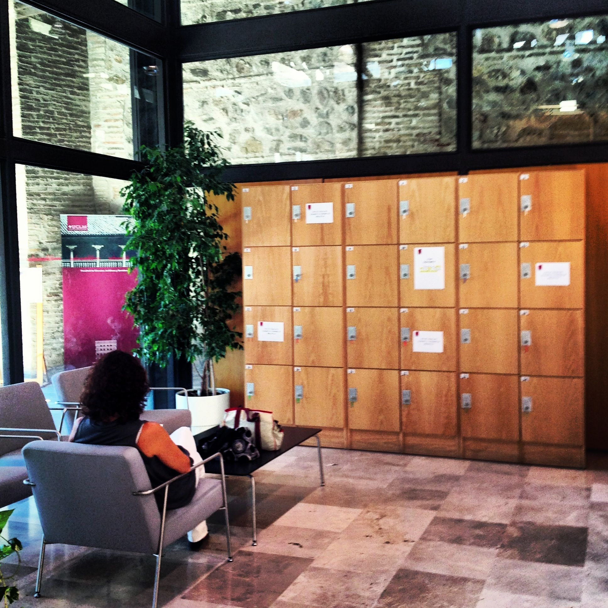 Biblioteca General del Campus de Toledo Taquillas
