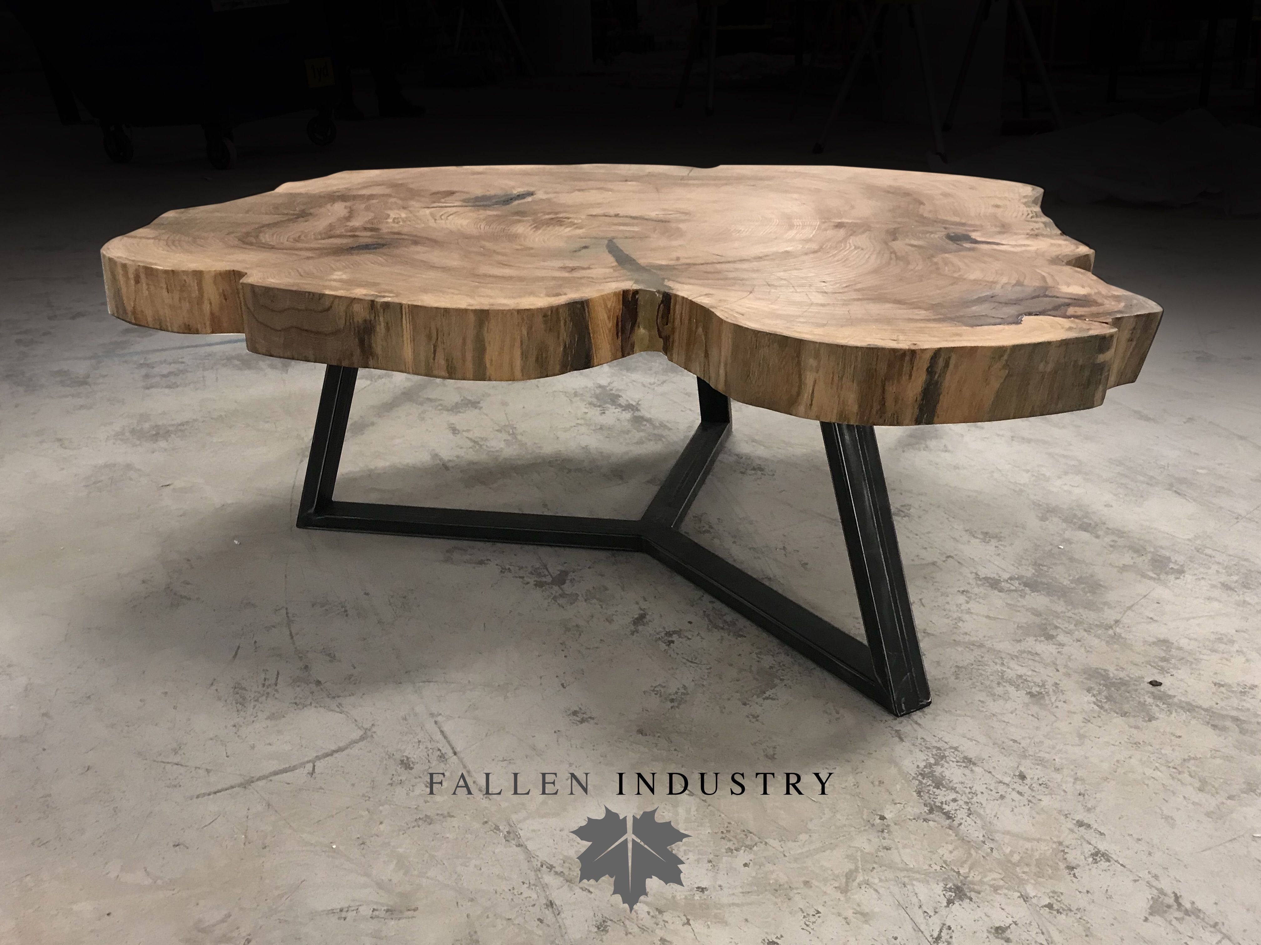 Union Coffee Table Live Edge Furniture Wood Table Design Live Edge Coffee Table [ 3024 x 4032 Pixel ]