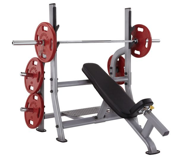 Steelflex Olympic Incline Bench Strength Weight Benches Bench Incline Bench