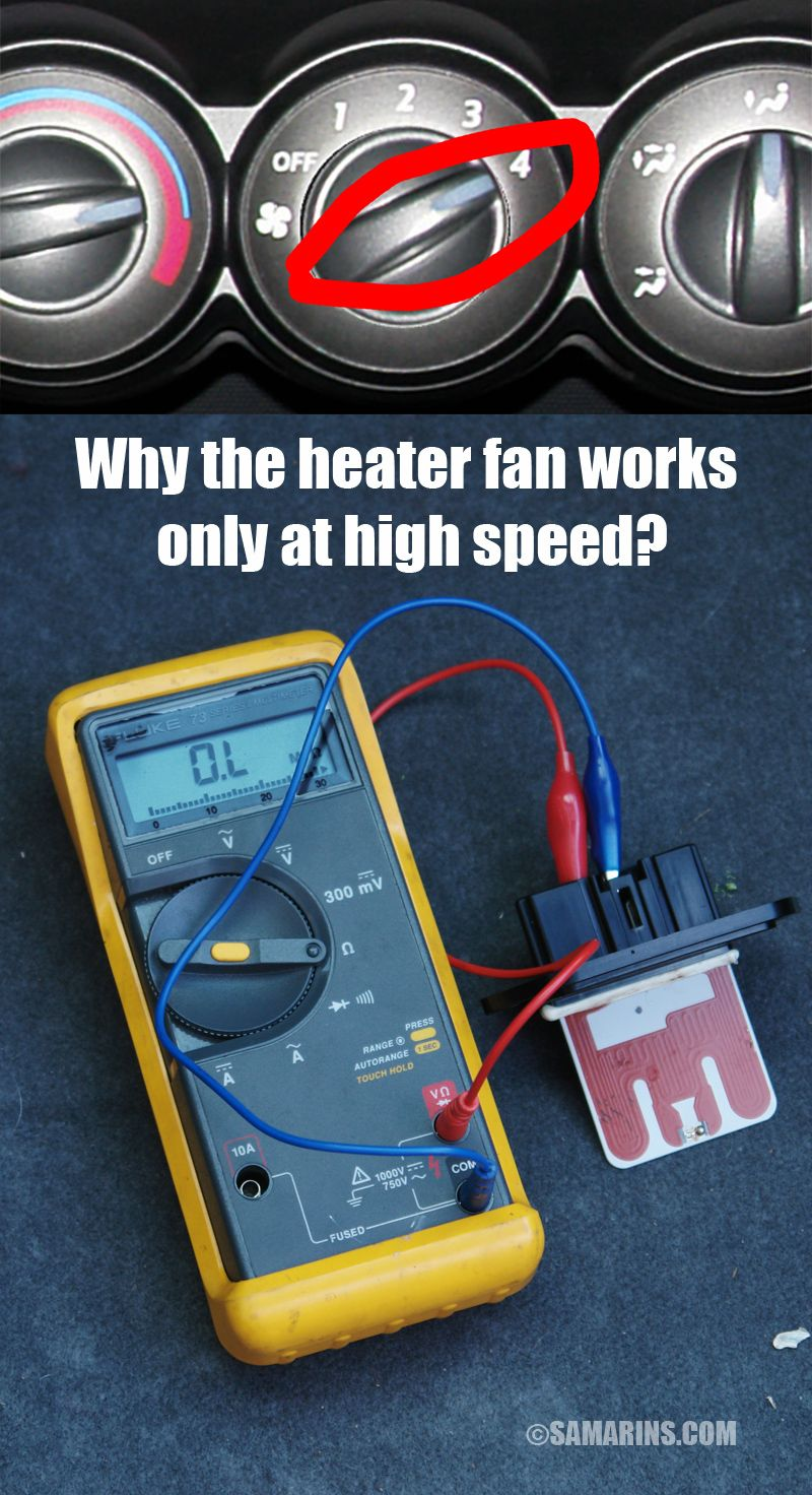 Why The Heater Only Works At High Speed In Your Car Automotive