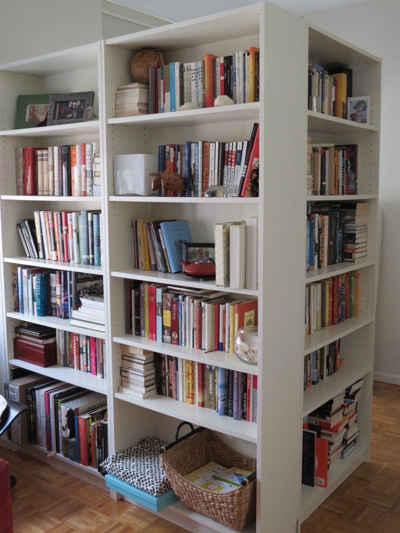 Billy Bookcases Room Divider