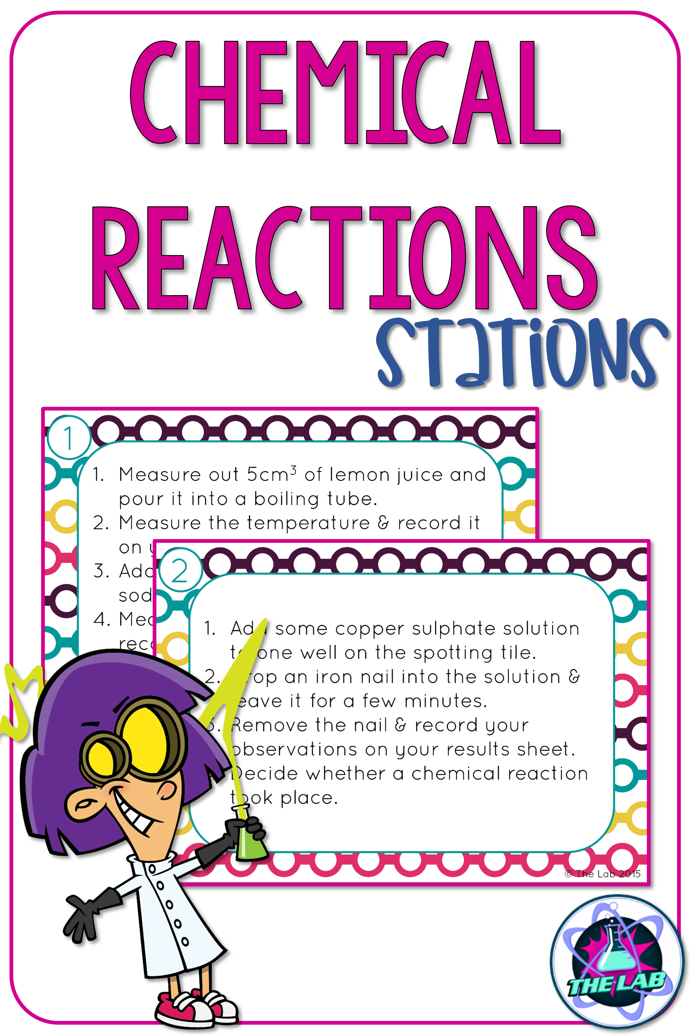 Chemical Reactions Stations With Images