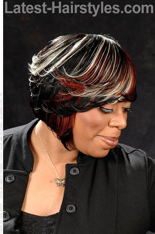 Awesome 1000 Images About Hair On Pinterest Feathered Bob Swing Bob Short Hairstyles For Black Women Fulllsitofus