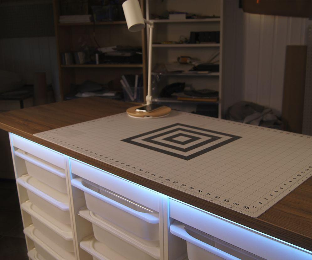 Ikea Hack Practical Workbench Ikea Hack Workbench Ikea Crafts