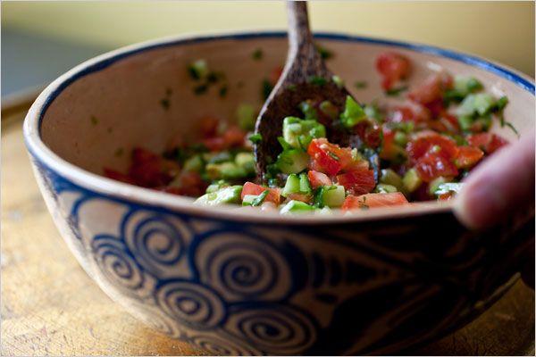 Six in the Suburbs: Zucchini Salsa
