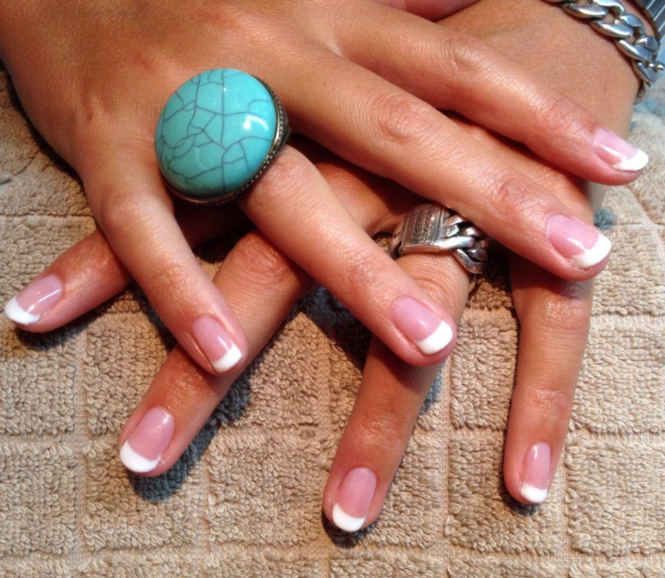 Mani-Q (gellak) French manicure op de natuurlijke nagel! - Nails by ...
