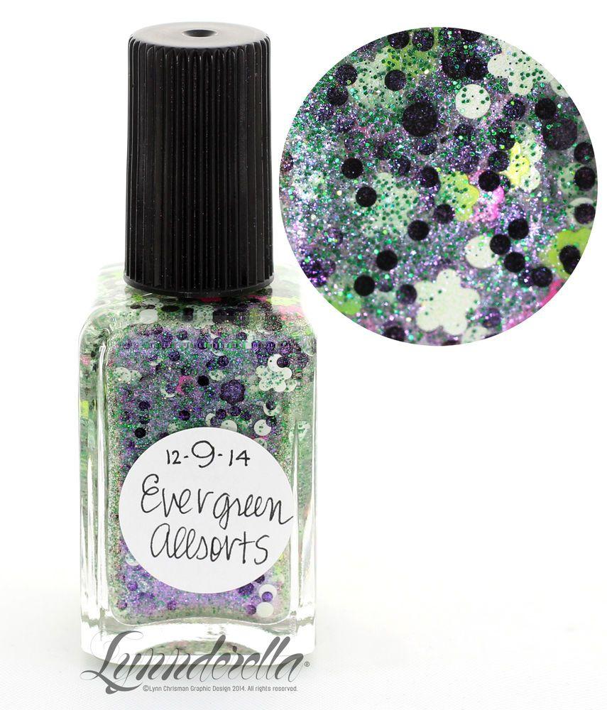 Lynnderella Limited Edition Nail Polish—December 9. Evergreen Allsorts #Lynnderella
