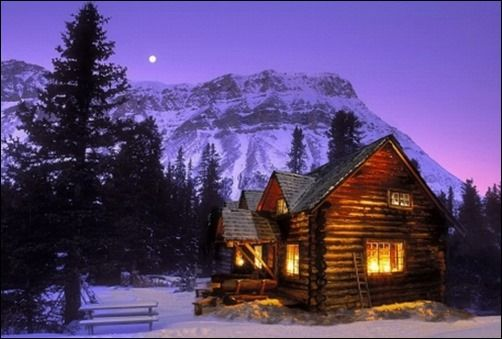 Log Cabins With Mountain Scenery Backgrounds 25 Breathtaking Free