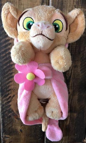 Disney Babies Baby Cub Nala Plush Flower Blanket Purring Sound Lion