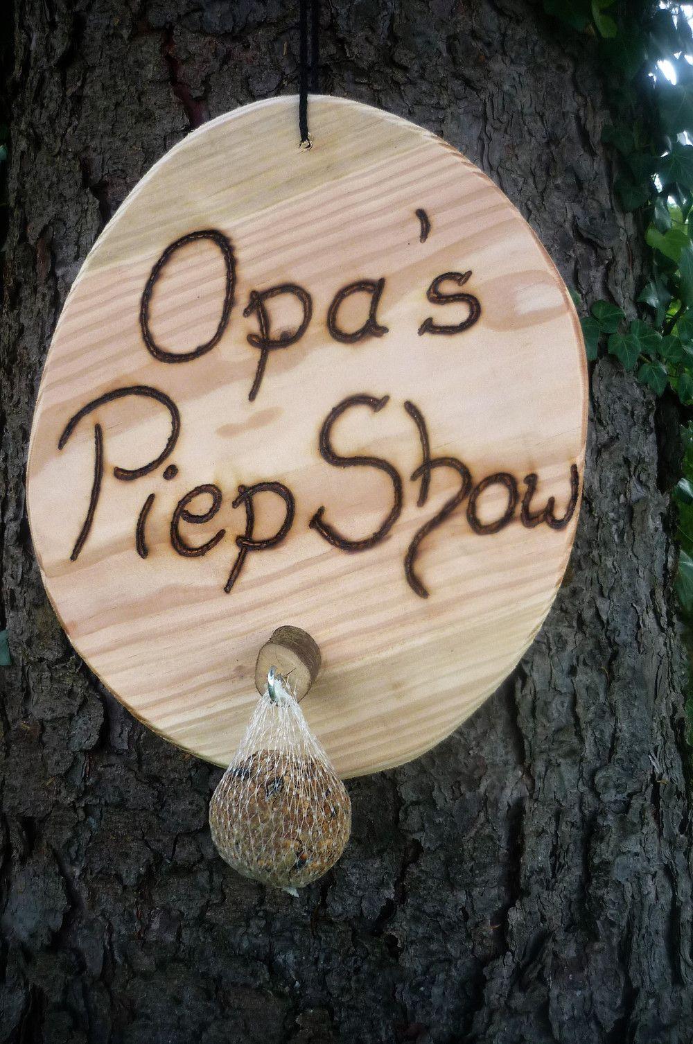 Männergeschenk Opas Piep Show #grandpagifts