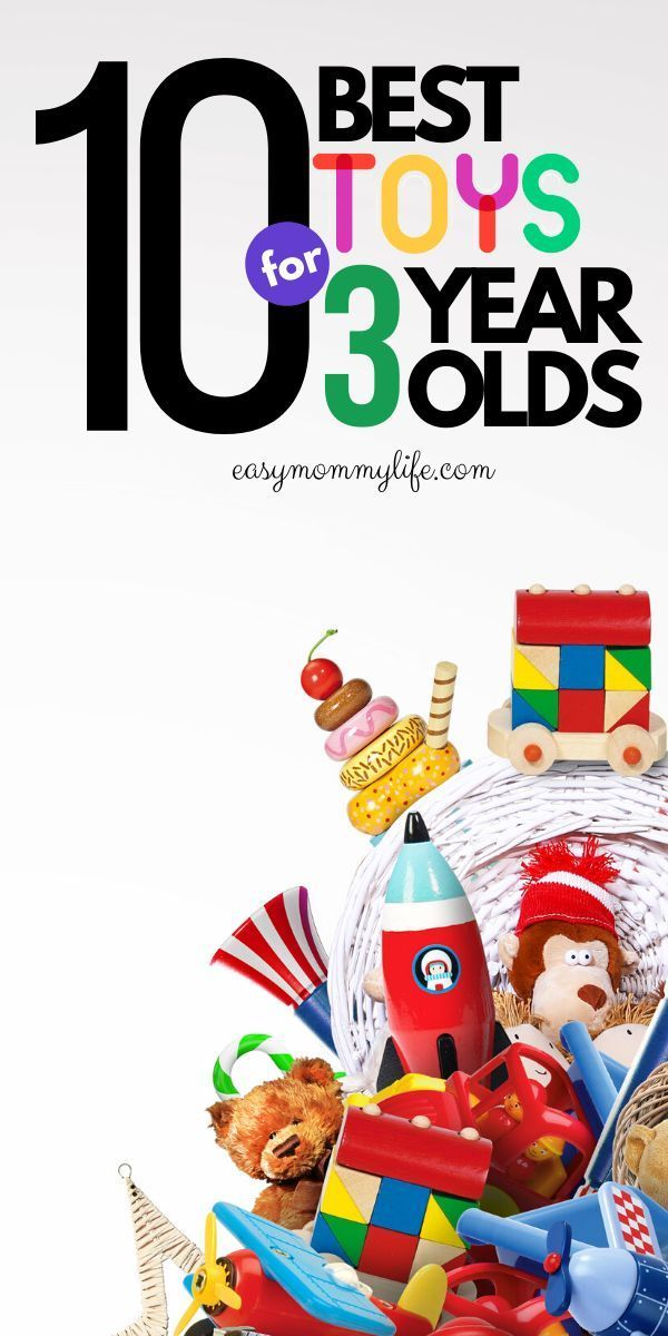 10 Most Age Appropriate Toys For 3-Year-Olds | Best baby ...