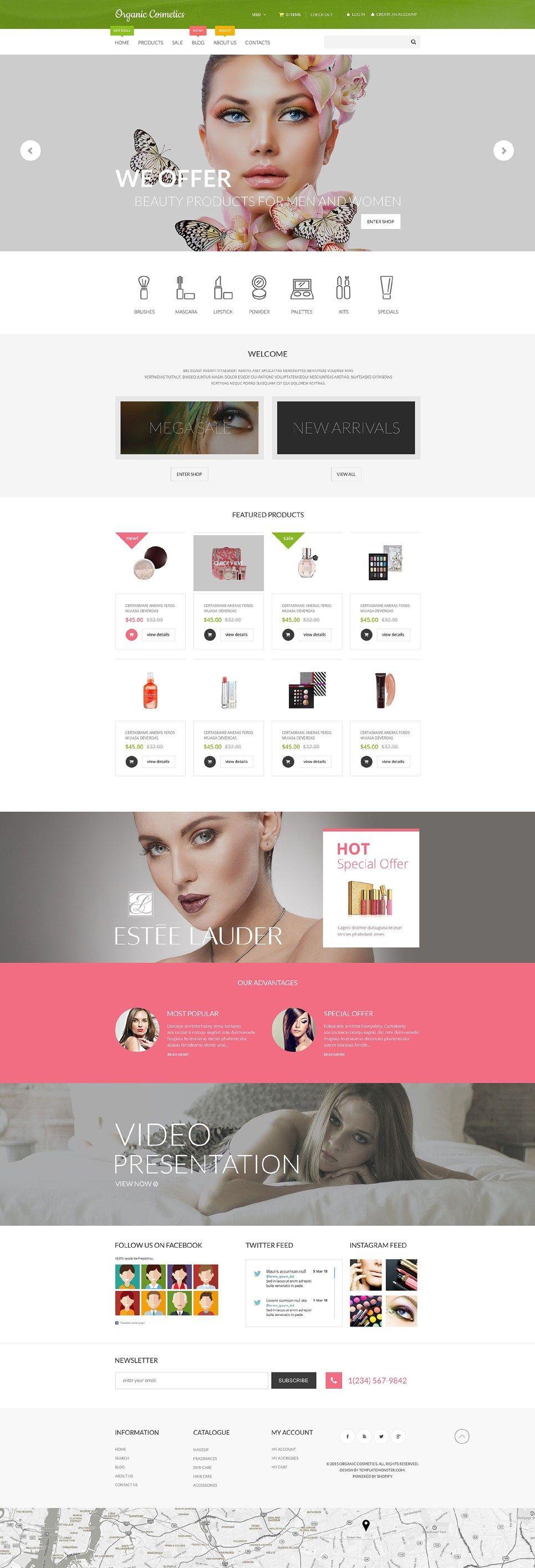 16 Stunning Beauty Store Shopify Themes
