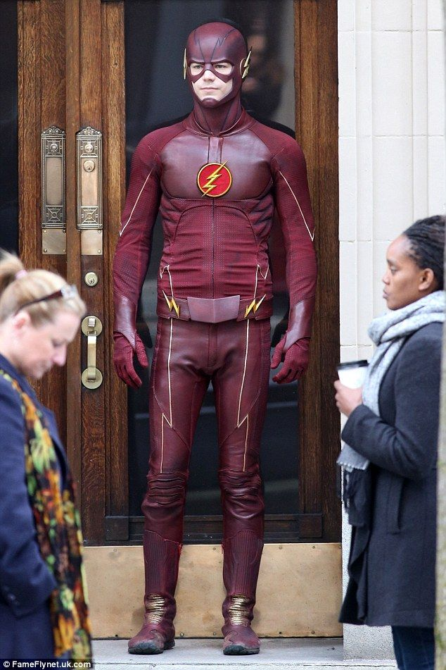 how to make a cw flash costume