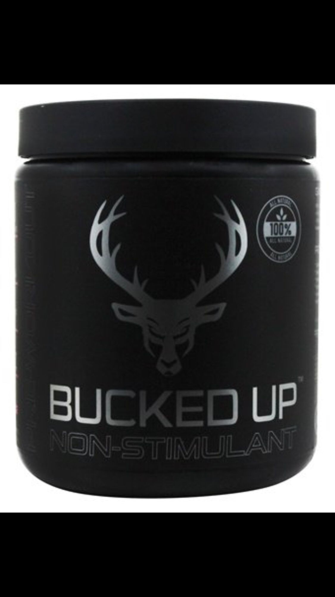 BUCKED UP NON STIMULANT bodybuilding fitness crossfit