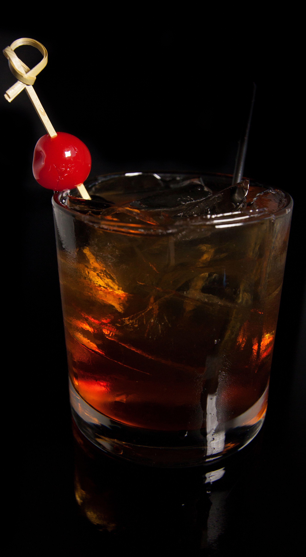 The Bootlegger Rye Whiskey Maple Syrup Cherry Herring Noho Gold Cherry Garnish Rye Whiskey Food Cherry