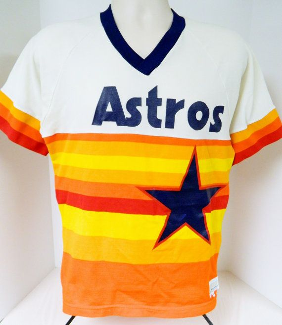 promo code 2b1fb feb48 Vintage 70s 80s Houston Astros Jersey by Medalist by ...