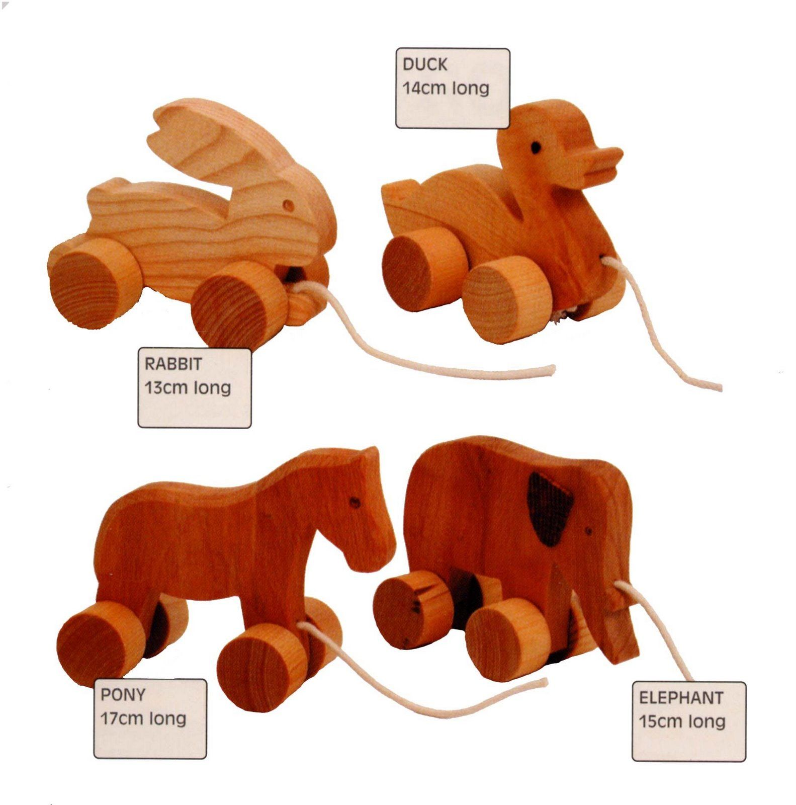 Definitely a future product. Wheeled push/pull animals are on my ...