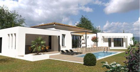 Benidorm 135 Les Villas Modernes Plan Maison Contemporaine Modele Maison Maison Architecte Moderne