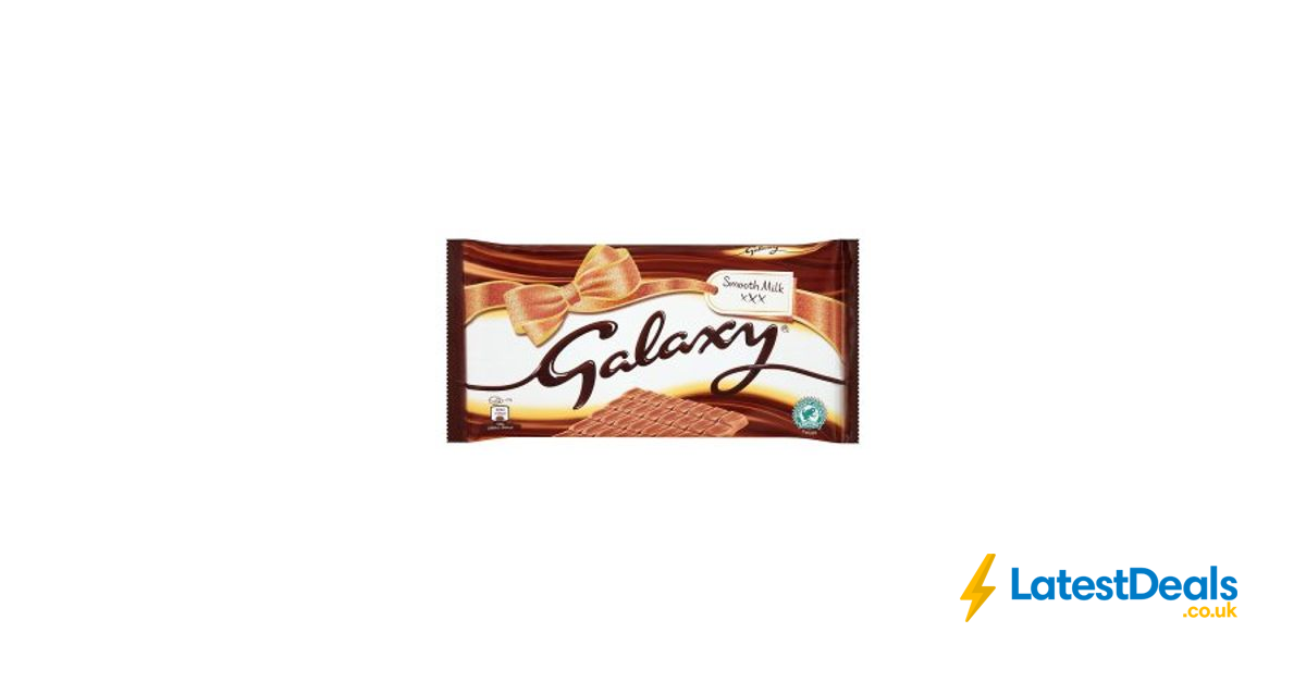 Galaxy Smooth Milk Chocolate 390g 225 At Iceland