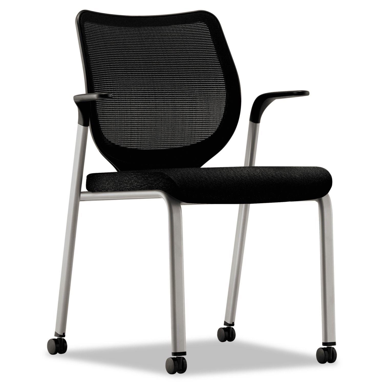 HON Nucleus Black Platinum Multipurpose Chair by Hon