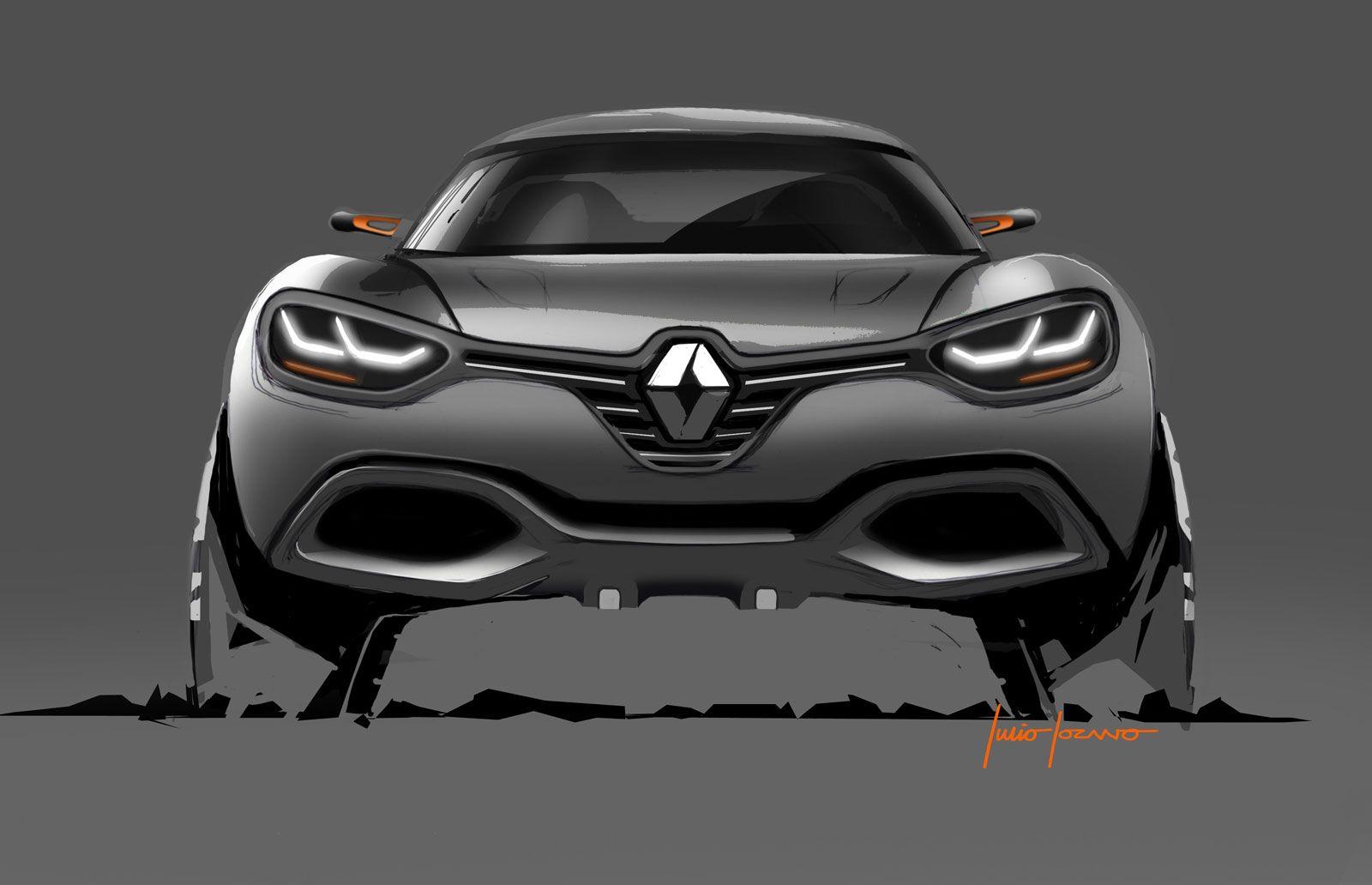 Renault Captur Concept Car Design Sketch Concept Cars Concept