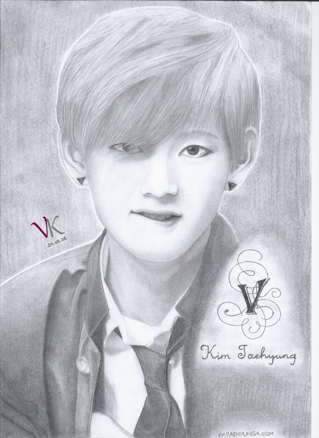 boys hair style photo kimtaehyung taehyung taetae bts bangtan fanart ori things 6085