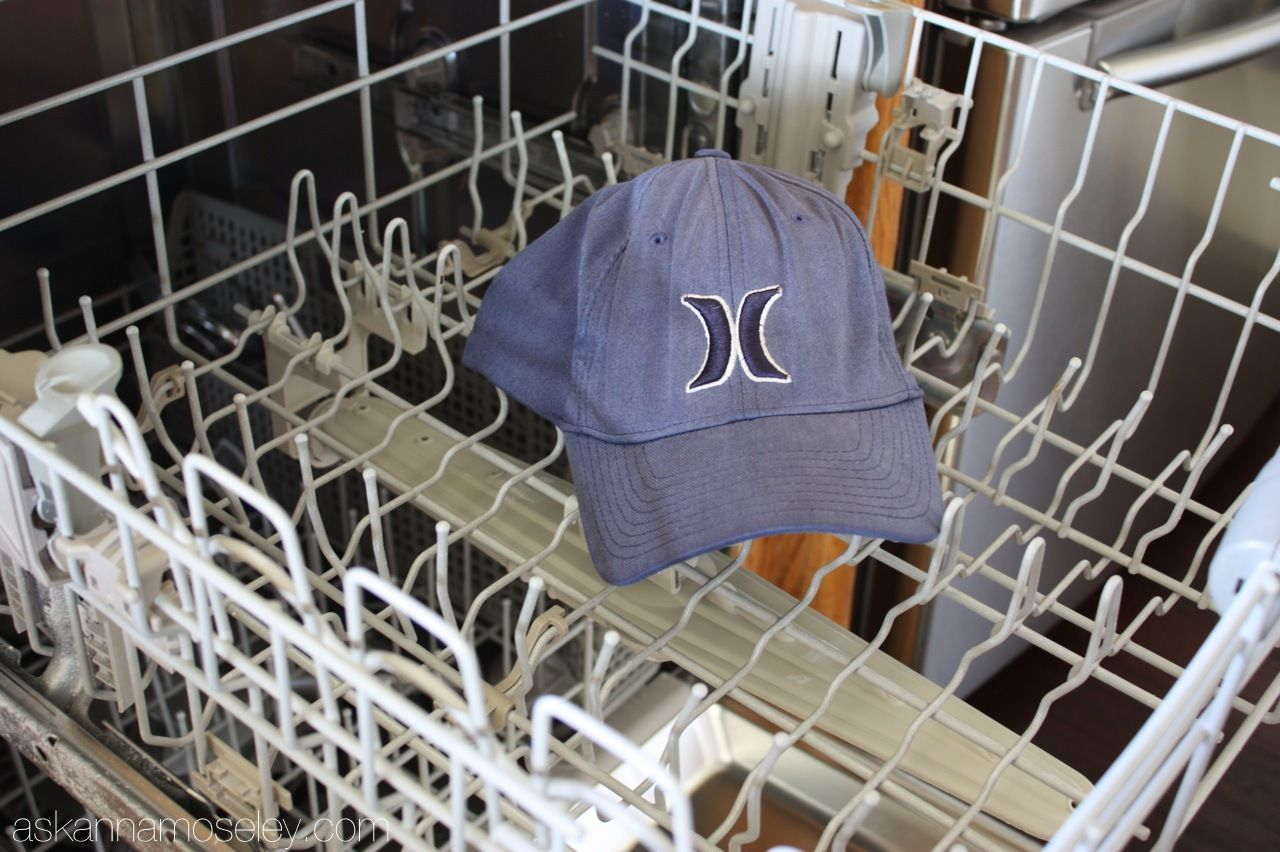 How To Wash A Hat Baseball Caps More Ask Anna Washing Baseball Hats Baseball Hats Washing Hats In Dishwasher