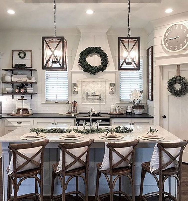 75 Best Rustic Farmhouse Decor Ideas Modern Country Styles 2020 Farmhouse Kitchen Decor Modern Farmhouse Kitchens Farmhouse Style Kitchen