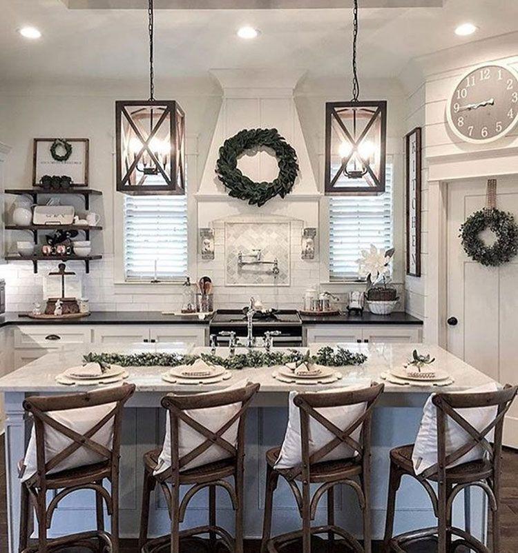 Home Ideas Review In 2020 Farmhouse Kitchen Decor Farmhouse