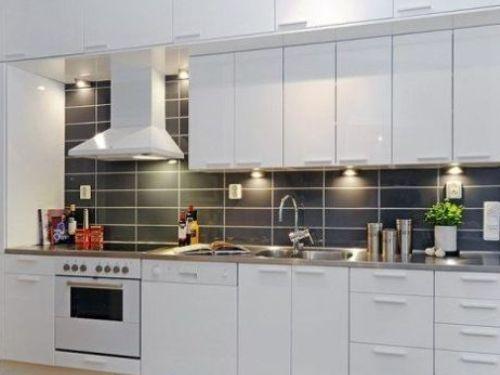 Image result for modern kitchen backsplash Tile Kitchen - Modern