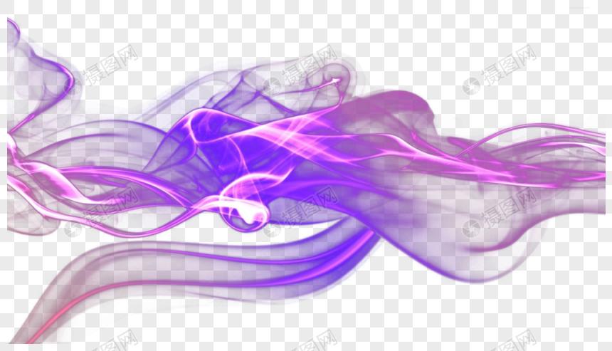 Background Elements Gauze Purple Smoke Smoke Smoke Elements Template Design Image Smoke Background