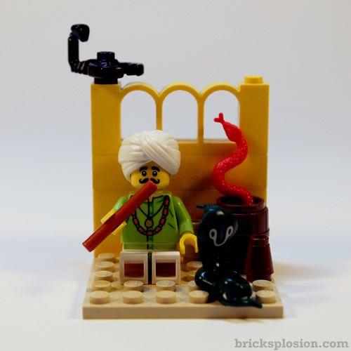 Lego Minifigure Series 13 Vignette Habitat For The Snake