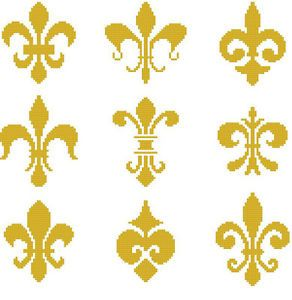 cross stitch pattern color french quarters new orleans. Black Bedroom Furniture Sets. Home Design Ideas