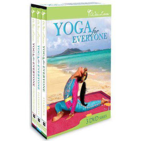 wai lana yoga for everyone collection dvd  walmart