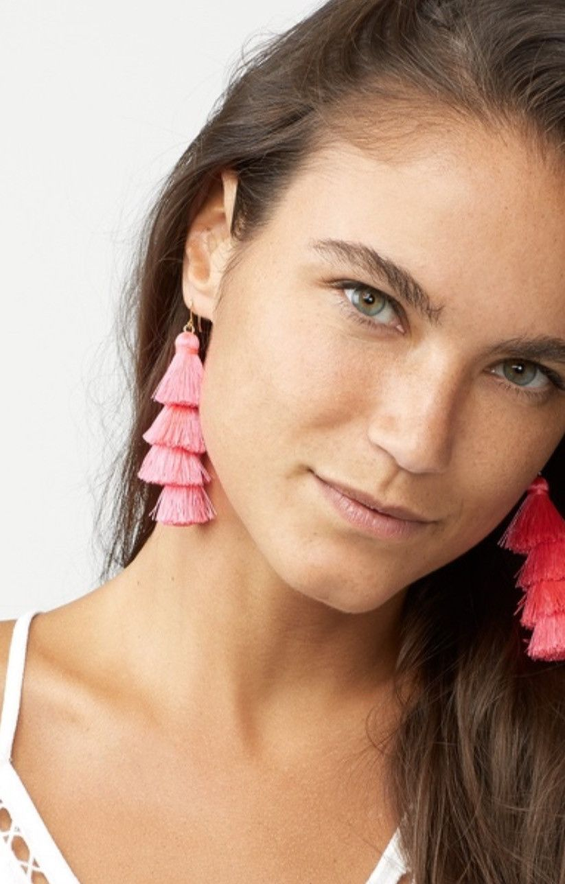 Fringe Drops Earrings