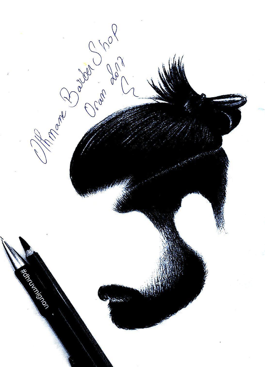 Coiffeur homme oran #othmane_barber_shop  Moose art, Barber shop