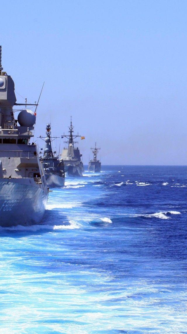 USS Halyburton, FFG-40, USS Eisenhower, CVN-69, Oliver Hazard Perry class, frigate, USA Navy