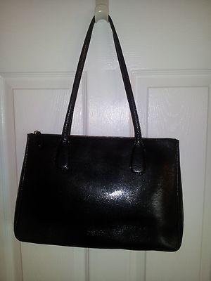 Desmo Black Leather Tote. Designer leather bag ... c9042ea3556e0