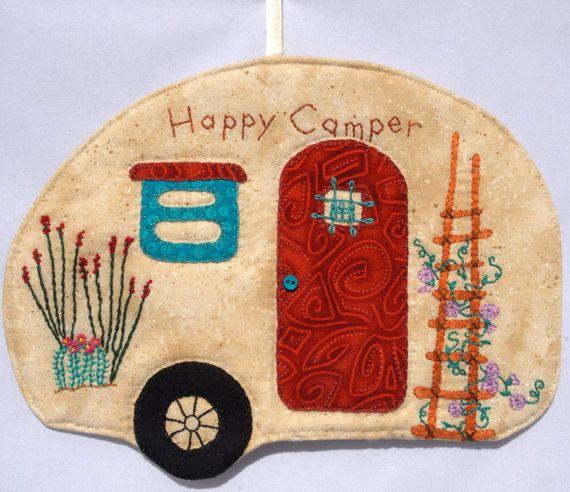 Hy Camper 41 Mug Rug By Quiltincats On Etsy