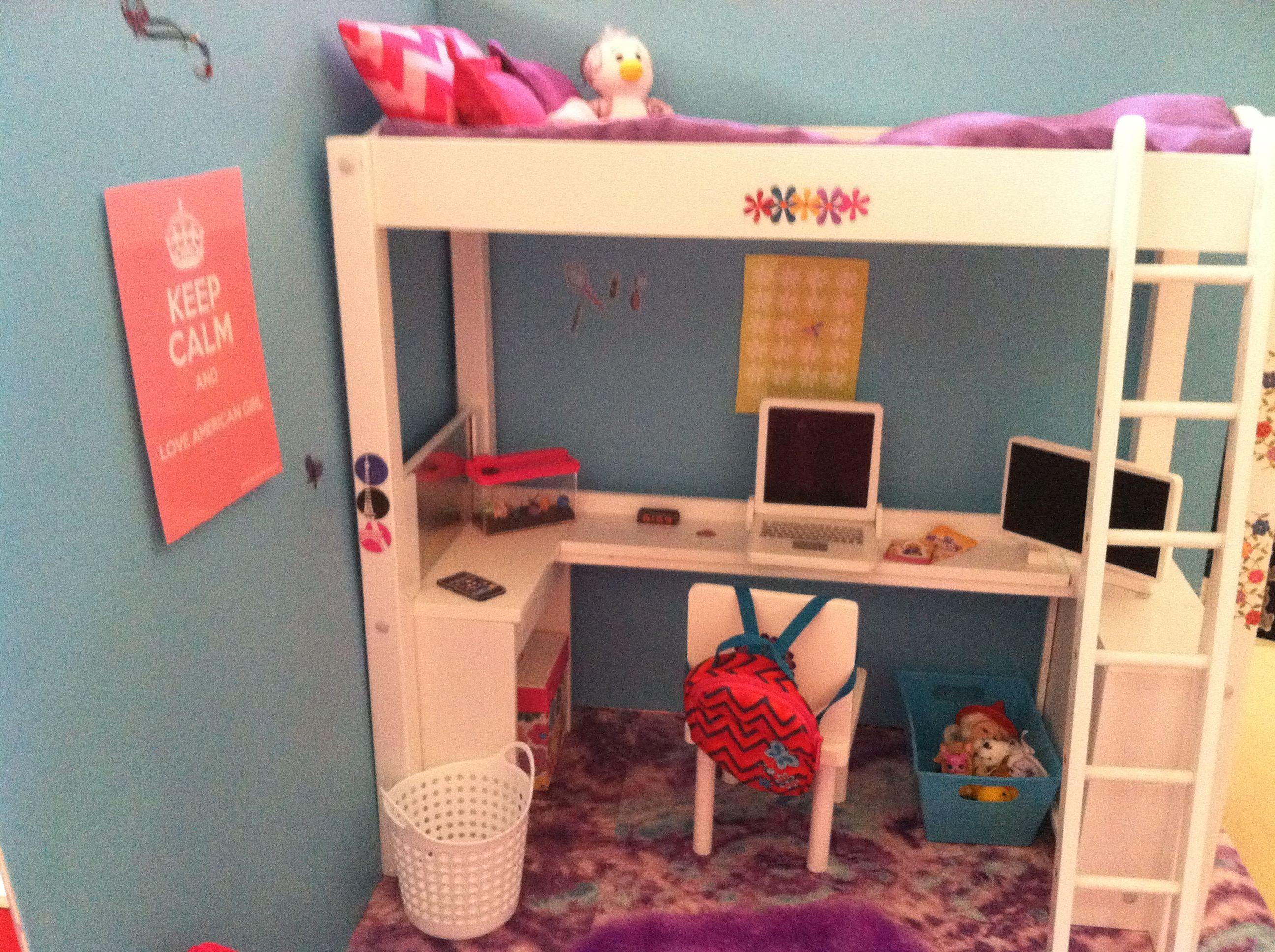 American Girl Doll House Bedroom My American Girl