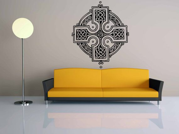 Removable Wall Room Decor Art Vinyl Sticker Mural Decal Celtic ...