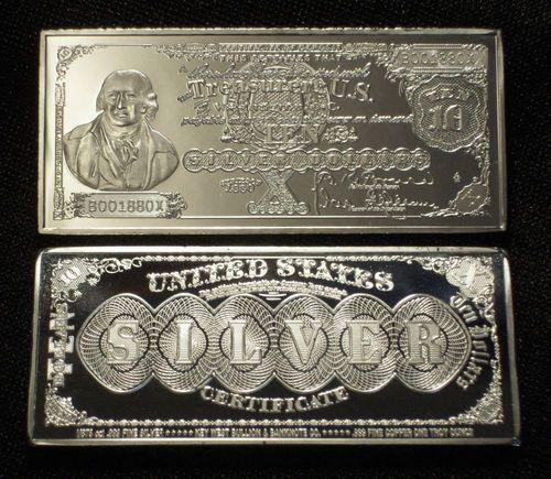ss silvergold bullion bars