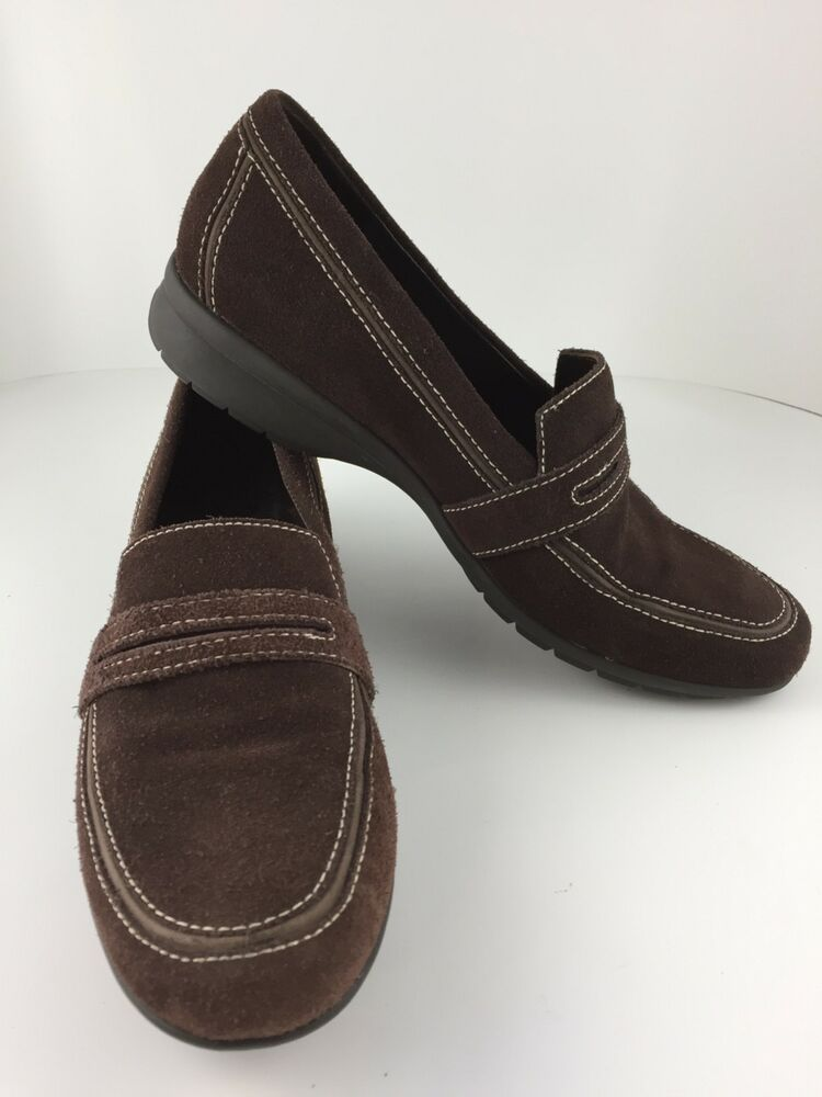 f5348ab596e Cole Haan Brown Suede Waterproof Casual Penny Loafers Women s Size 8 1 2 B   fashion  clothing  shoes  accessories  womensshoes  flats (ebay link)